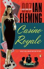 Casino Royale (1954) Ian Fleming, Portada Libro.