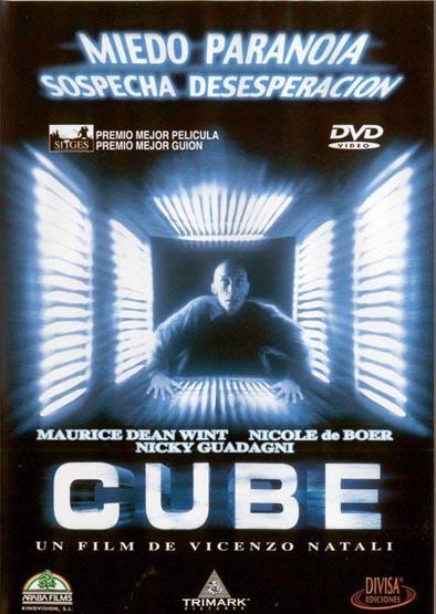 La mejor película que has visto hasta ahora.. Cube