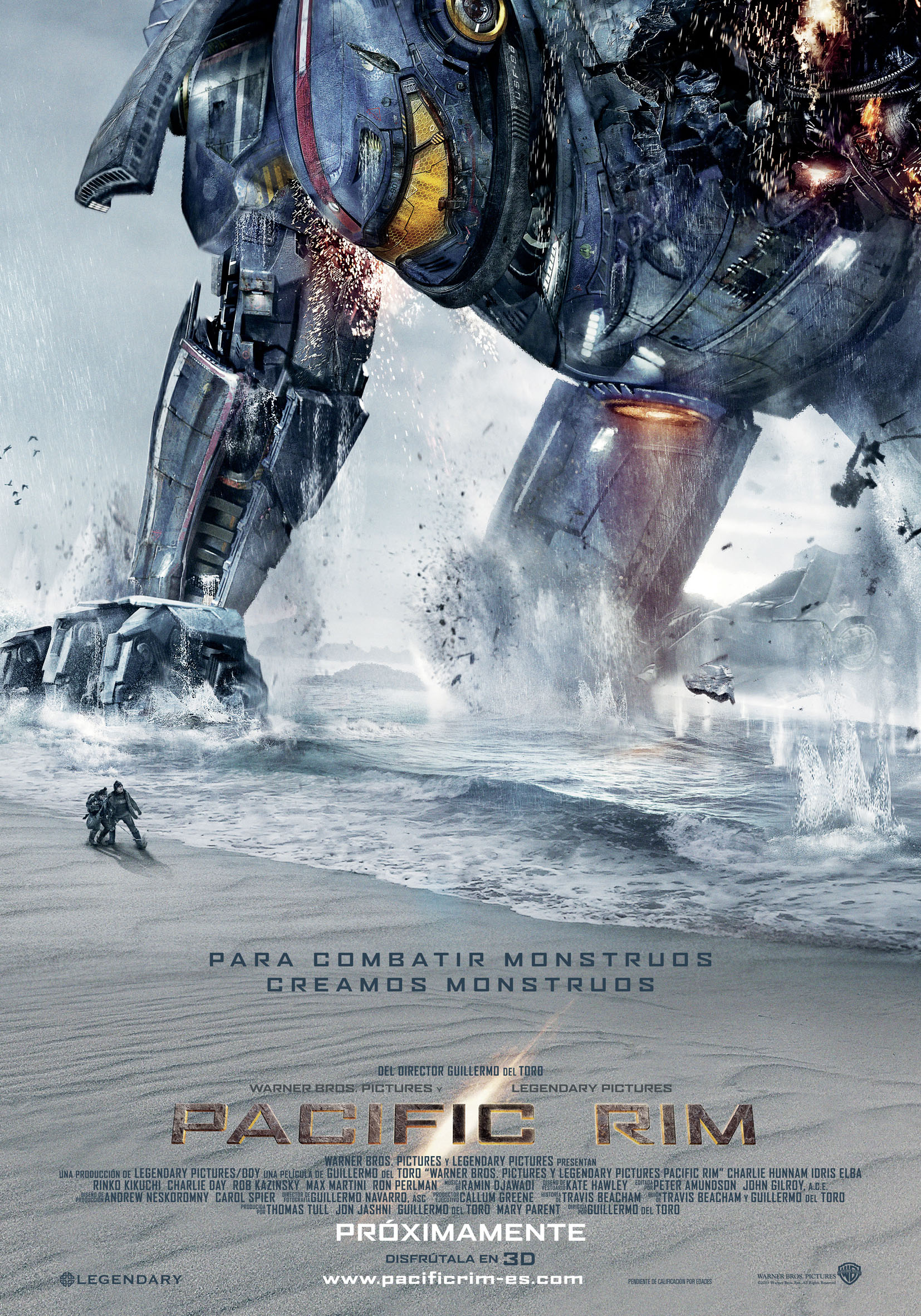 "Teaser Poster ""Pacific Rim"" - Beach"