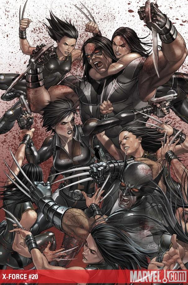 Cuchillos, sangre, Lobezno y sus clones...