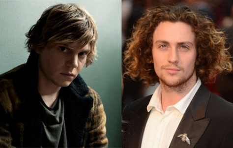 Evan Peters vs. Aaron Taylor-Johnson