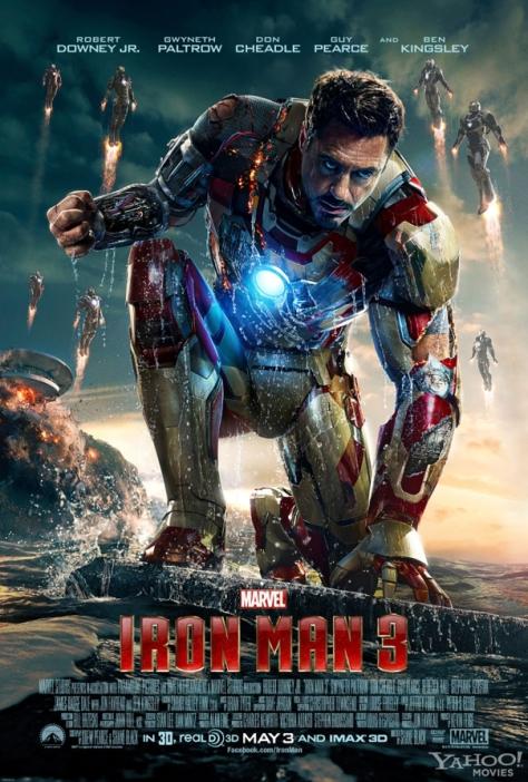 Iron Man 3 poster