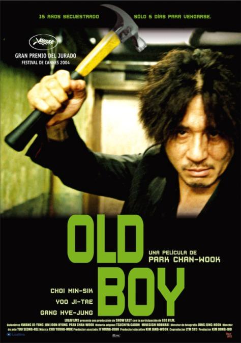 Trilogía de la Venganza - Poster Old Boy