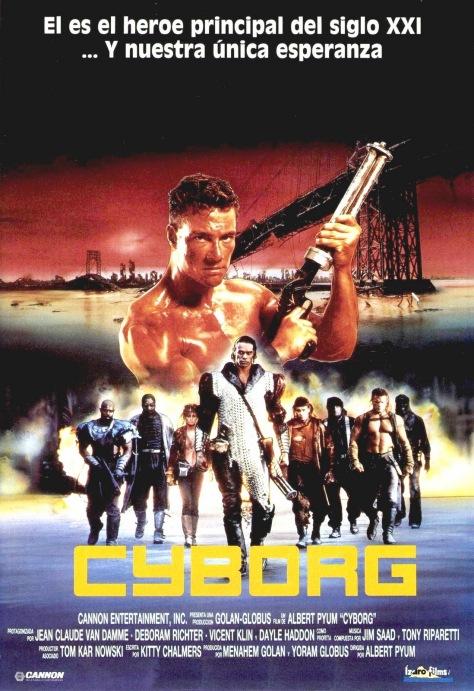 cyborg poster