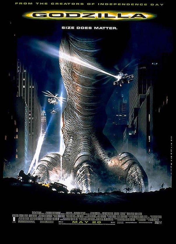Godzilla-1998-poster