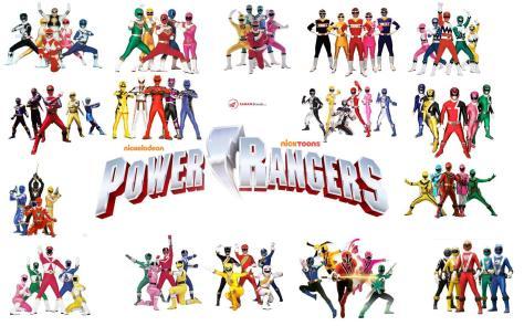 The Power Rangers
