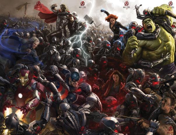 Ryan Meinerding - The Avengers