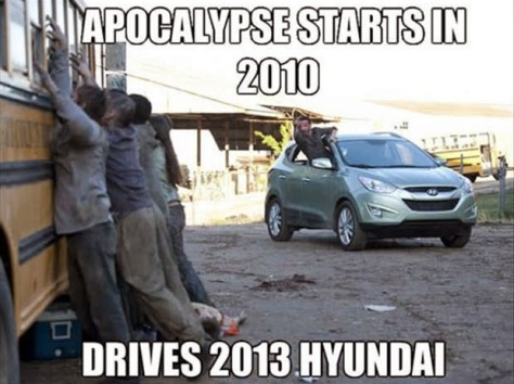 cars the walking dead